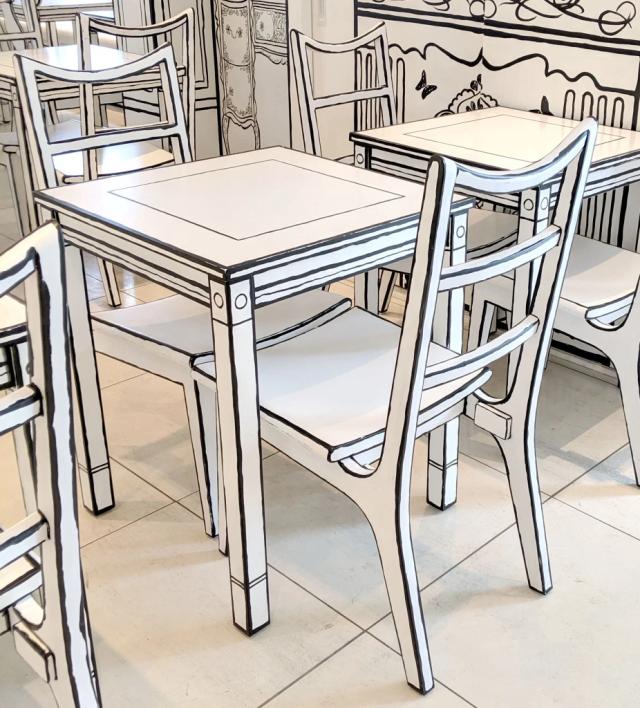 Nhiều vị khách tỏ ra thích thú với quán cà phê xinh xắn và độc đáo này. Tuy nhiên, họ cho rằng không thể đến quá thường xuyên hay ngồi quá lâu mỗi lần vì muốn cho mắt được nghỉ ngơi.