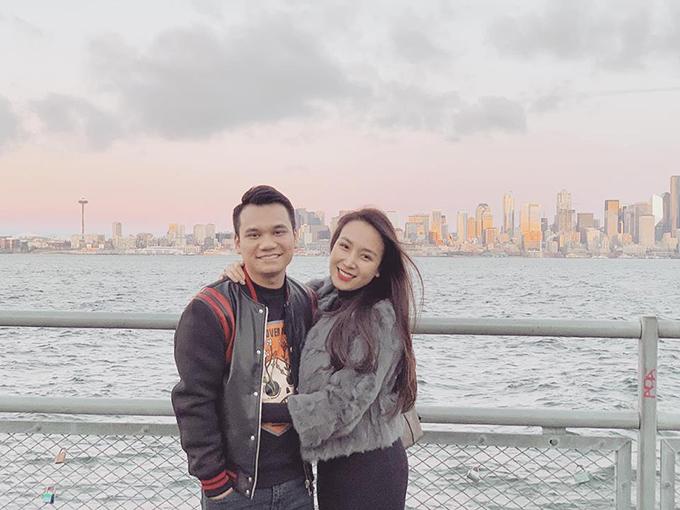 Vợ chồng Khắc Việt - Thanh Thảo.