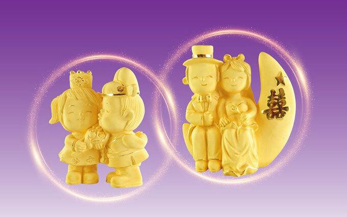 Phu thê hảo hợp vàThê hiền phú quý nằm trong bộ sưu tập Kim Bảo Phúc.