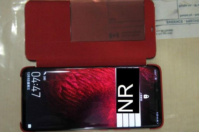 Một chiếc điện thoại bị thu giữ của bà Meng Wanzhou. Ảnh: Tòa án tối cao British Columbia.