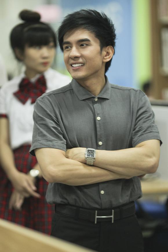 Anh Bo Đan Trường lần thứ ba đóng vai thầy giáo.