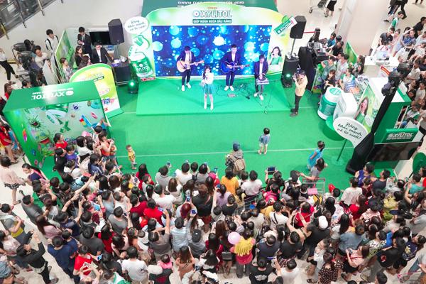 Các hoạt động tại sự kiện thu hút nhiều người quan tâm
