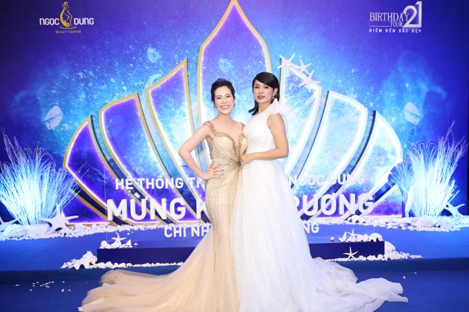 Trước lời khen nhan sắc quên tuổi, Việt Trinh cho biết: