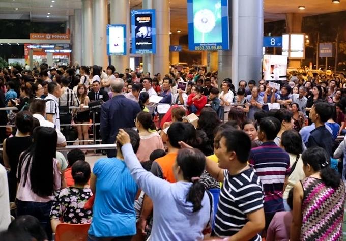 Nhà ga quốc nội sân bayTân Sơn Nhất - Ảnh VnExpress