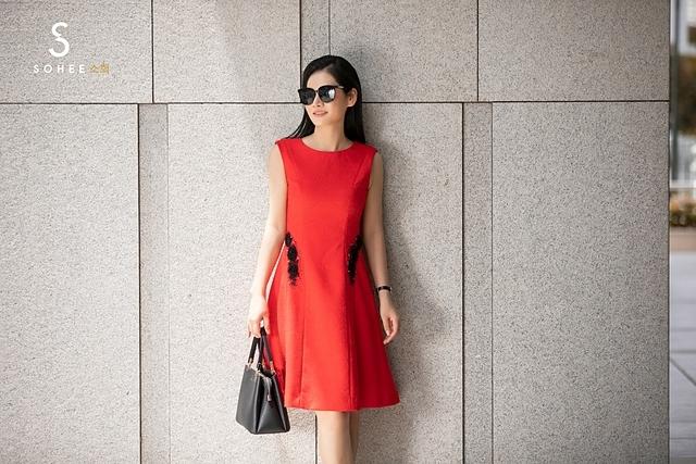 Bộ sưu tập mùa thu của dòng SoheebyHabui bày bán tại gần 20 showroom của hãng ở nhiều tỉnh, thành của miền Bắc và miền Trung.