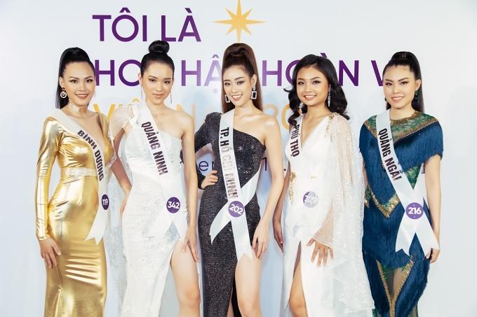 Top 60 thí sinh được tuyển chọn sau hai buổi casting miền Bắc và Nam trong tháng 9 vừa qua. Họ tiếp tục bước vào ngôi nhà chung và tham gia ghi hình chương trình truyền hình thực tế Tôi là Hoa hậu Hoàn vũ Việt Nam 2019.