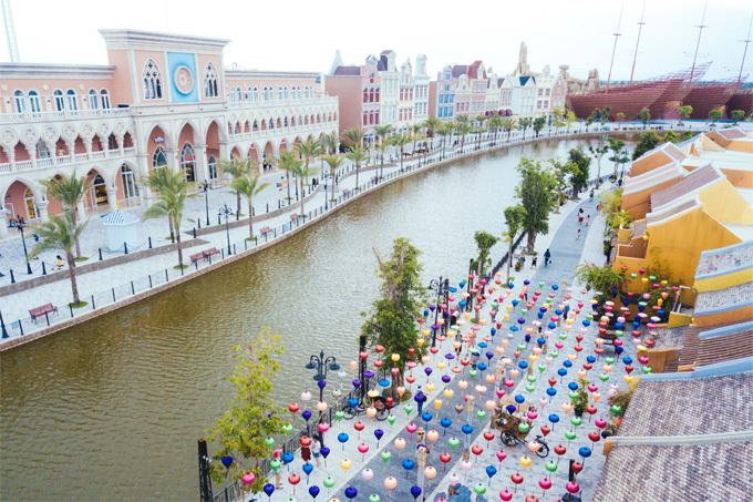 Vinpearl Nam Hội An là một trong những điểm đến vui chơi thu hút nhất trong năm vừa qua.