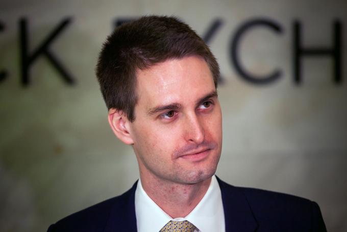Evan Spiegel, tỷ phú trẻ tuổi nhất trong danh sách 400 người giàu nhất nước Mỹ. Ảnh: Times.
