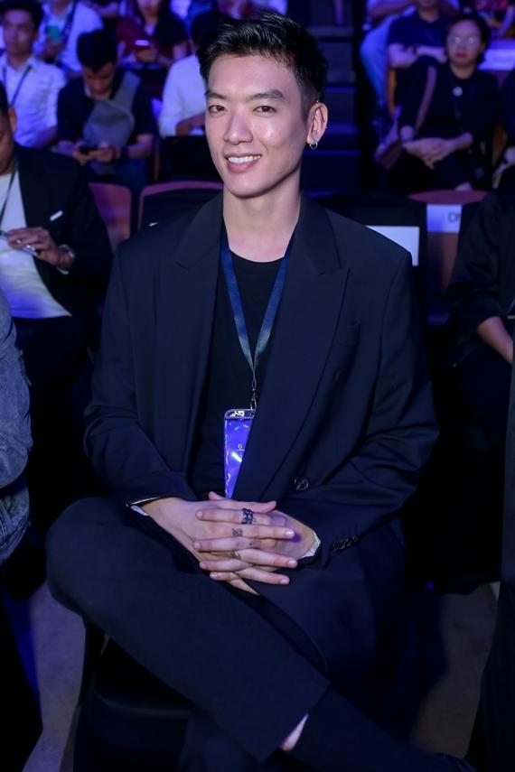 Người mẫu Brian Trần - học trò Võ Hoàng Yến tại The Face 2018 - khoe vẻ điển trai.