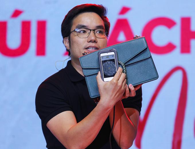 EO Lux LCC dùng máy quét có camera phóng to hình ảnh gấp 400 lần để kiểm định túi.
