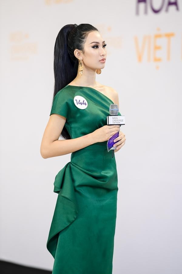 Phạm Thị Anh Thư bị phê bình vì không điền đẩy đủ thông tin trong đơn đăng ký dự thi.