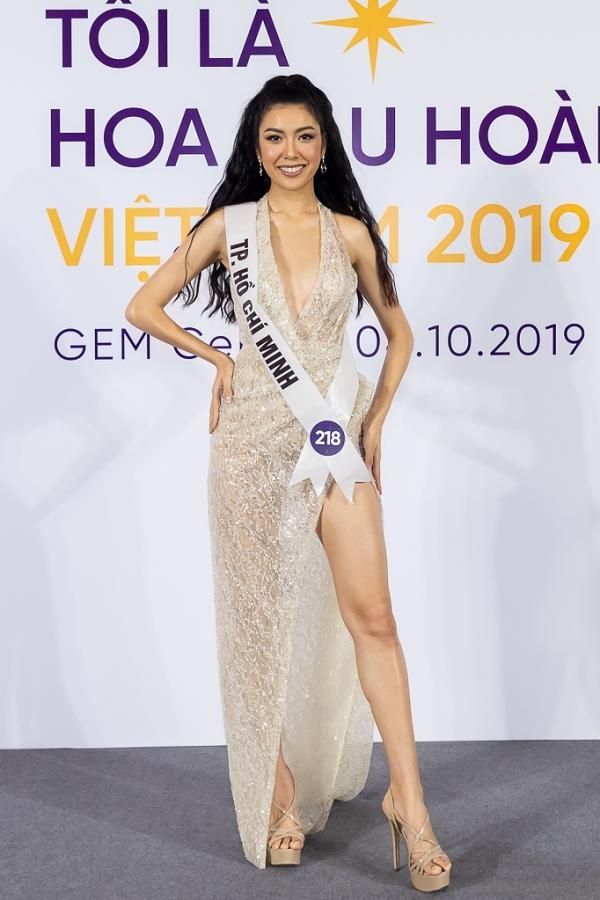 Phạm Hồng Thúy Vân 26 tuổi, là Á hậu 3 Hoa hậu Quốc tế 2015. Cô được đánh giá hội đủ tố chất từ ngoại hình đến kỹ năng ứng xử, ngoại ngữ để giành vương miện năm nay.