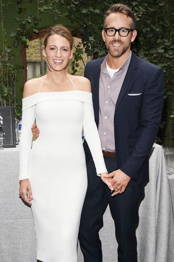 Blake Lively và Ryan Reynolds.