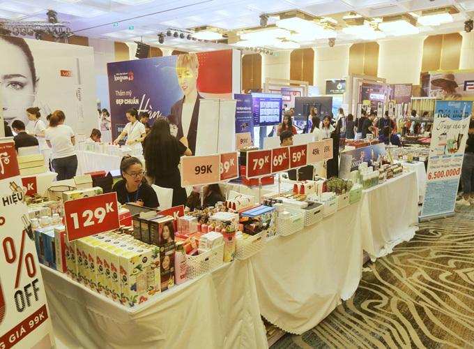 Ngoisao Beauty Expo đang diễn ra tại Vinpearl Luxury Landmark 81