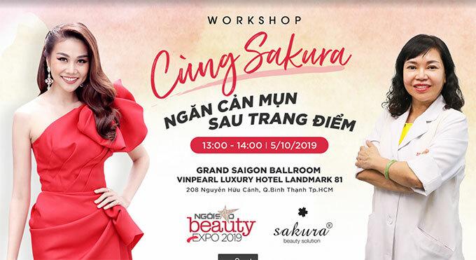 Người đẹp Thanh Hằng (trái) cùng các chuyên gia sẽ cùng chia sẻ bí quyết làm đẹp cho các bạn trẻ.
