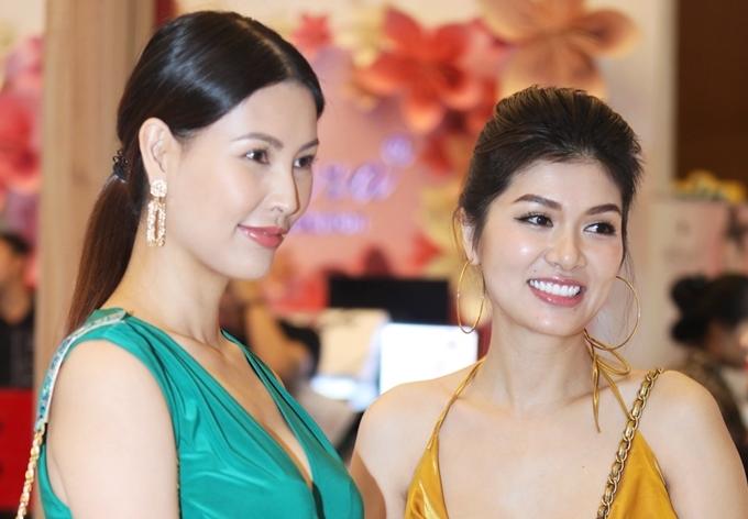 Oanh Yến và đàn chị Thanh Hoài
