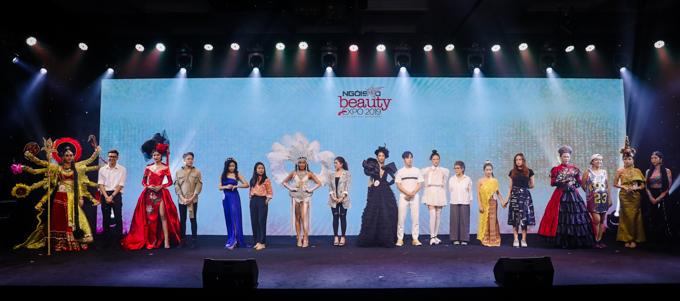 Cuộc thi Makeup Transformation nằm trong khuôn khổ triển lãm làm đẹp Ngoisao Beauty Expo 2019 do báo Ngoisao.net tổ chức. 10 thí sinh đạt điểm cao nhất thông qua bình chọn của ban giám khảo và khán giả vừa tham gia vòng chung kết đêm 5/10 tại Vinpearl Luxury Landmark 81, TP HCM. Tuy nhiên, có một thí sinh không thể đến dự vì lý do cá nhân, nên sân khấu đêm chung kết có 9 thí sinh tham gia tranh tài.