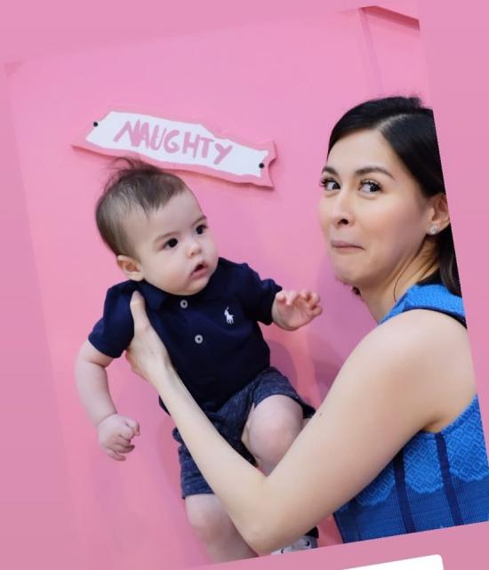 Con trai 6 tháng tuổi của Marian Rivera - 3