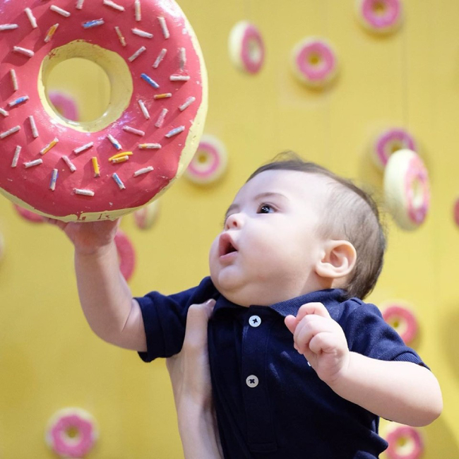 Con trai 6 tháng tuổi của Marian Rivera - 5