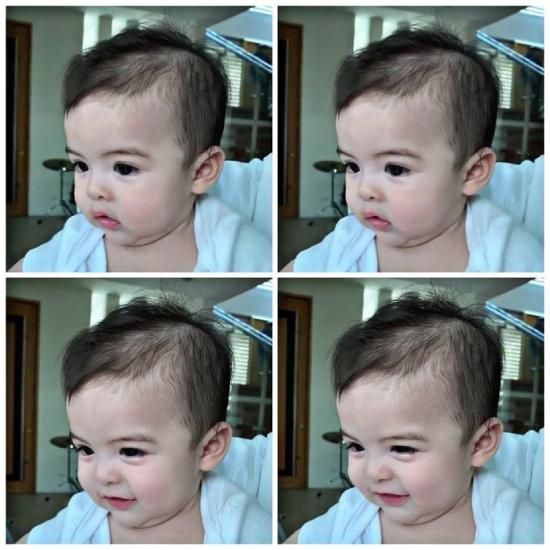 Những khoảnh khắc đáng yêu của em bé 6 tháng tuổi.