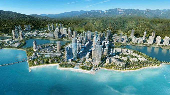 Halong Marina có hệ sinh thái, cảnh quan thiên nhiên chan hòa, giá trị sống vượt trội, hệ thống tiện ích.