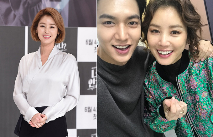 Ở tuổi 52, Kim Sung Ryung vẫn giữ được sắc vóc tươi trẻ và thường được khán giả gọi là mẹ Kim Tan sau khi tham gia diễn xuất trong phim Những người thừa kế.