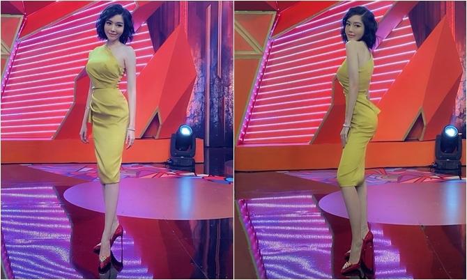 Vóc dáng hiện tại của Elly Trần.