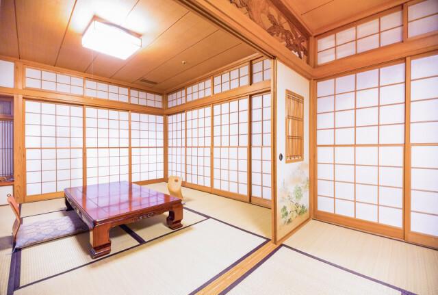 Khu vực bị cấm trong căn phòng truyền thống Nhật Bản - 1