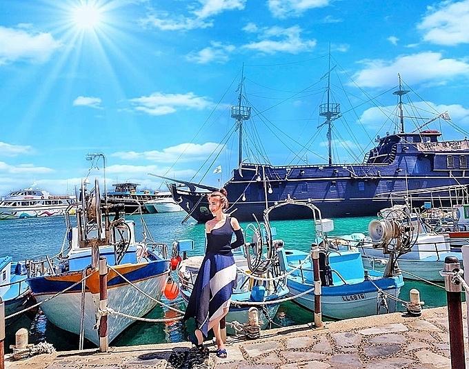 Aiya Napa Beach , Cyprus tháng 5 nghỉ hè