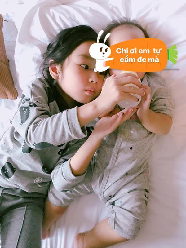 Con gái thứ hai của Hồ Hoài Anh và Lưu Hương Giang chào đời tháng 6/2016, tên ở nhà là Misu. Từ khi trở thành bà mẹ 2 con, Lưu Hương Giang ít đi biểu diễn và dành phần lớn thời gian để vun vén gia đình. Bên cạnh đó, cô phát triển sự nghiệp kinh doanh spa.