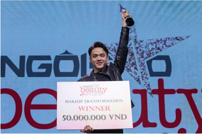 Quán quân Makeup Transfomation chiến thắng nhờ Minh Tú tiếp động lực