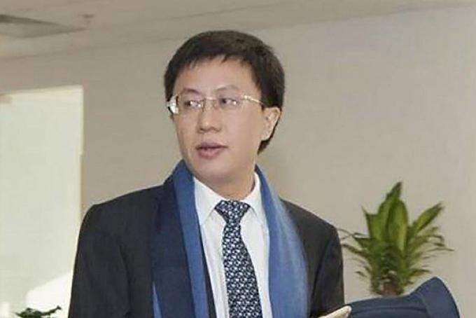 Ông trùm tài chính Zhang Zhexin. Ảnh: Weibo.