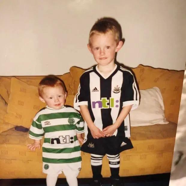 Sean và cậu em Matty ngày còn bé.
