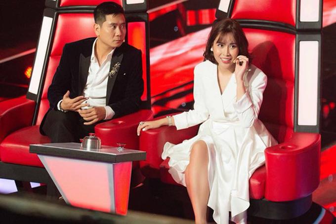 Trước khi ly hôn, Hồ Hoài Anh và Lưu Hương Giang từng tạo dấu ấn cặp đôi trai tài, gái sắc khi làm giám khảo The Voice Kids.