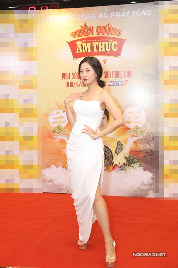 MC Liêu Hà Trinh.