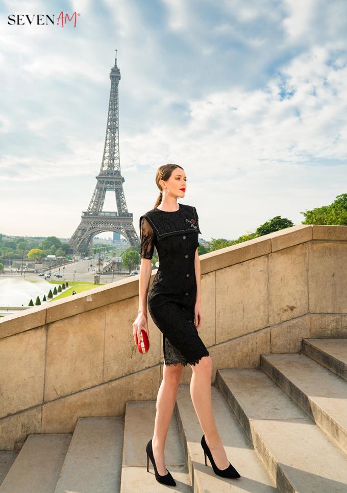 Tittle 1: ĐẮM SAY TRONG BỘ SƯU TẬP CỦA SEVEN.AM TẠI PARIS - xin edit - 3