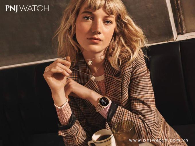 Đồng hồ smartwatch của PNJ Watch.