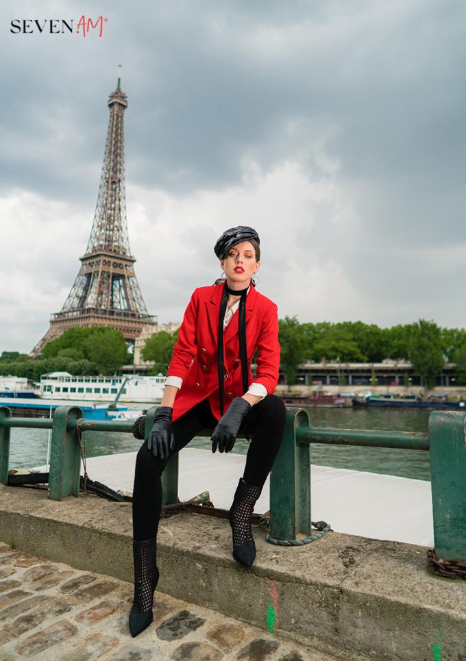 Tittle 1: ĐẮM SAY TRONG BỘ SƯU TẬP CỦA SEVEN.AM TẠI PARIS - xin edit - 7
