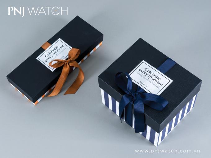 PNJ gợi ý các hộp quà khi mua hàng tại thương hiệu.
