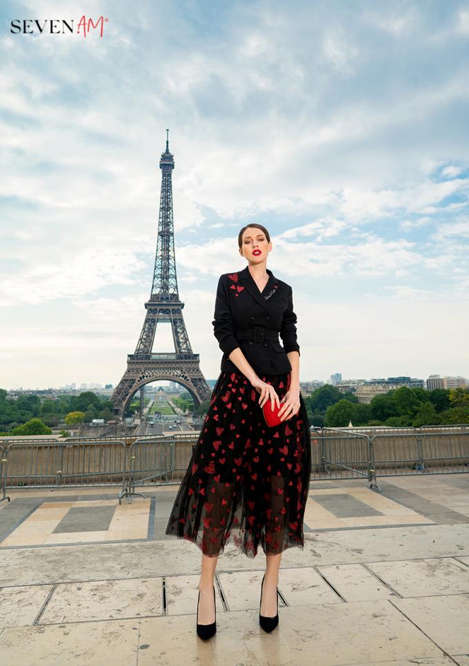 Tittle 1: ĐẮM SAY TRONG BỘ SƯU TẬP CỦA SEVEN.AM TẠI PARIS - xin edit - 1