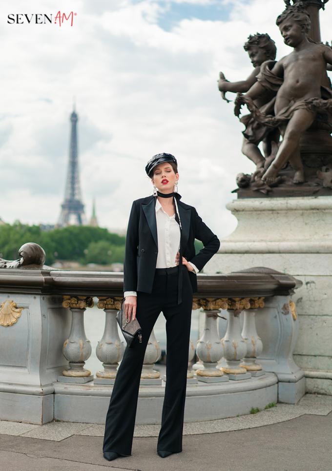 Tittle 1: ĐẮM SAY TRONG BỘ SƯU TẬP CỦA SEVEN.AM TẠI PARIS - xin edit - 6