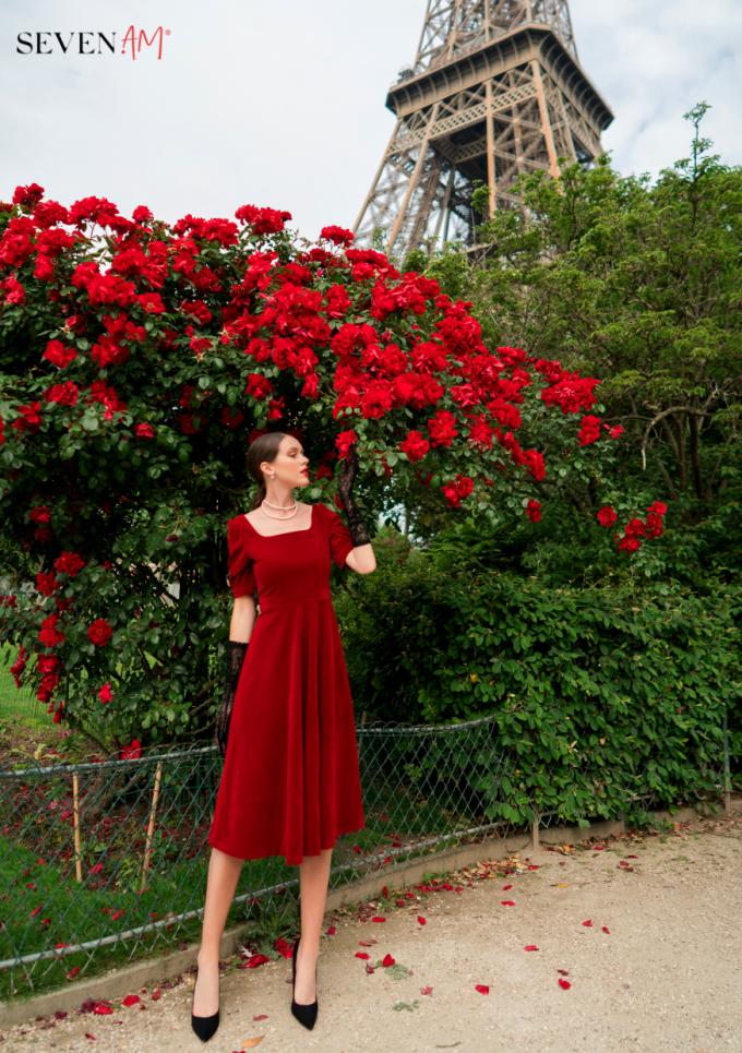 Tittle 1: ĐẮM SAY TRONG BỘ SƯU TẬP CỦA SEVEN.AM TẠI PARIS - xin edit - 8
