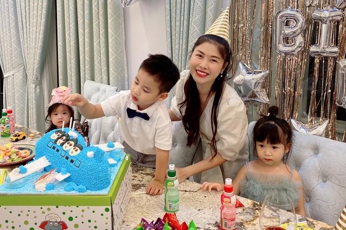 Đăng Khôi tổ chức sinh nhật cho con trai ở biệt thự mới - 3