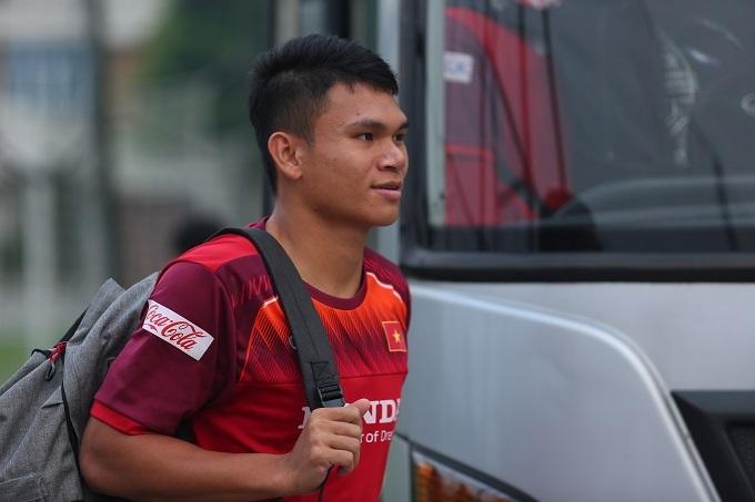 Xuân Mạnh từng làm việc với HLV Park ở VCK U23 châu Á 2018. Ảnh: Đương Phạm.