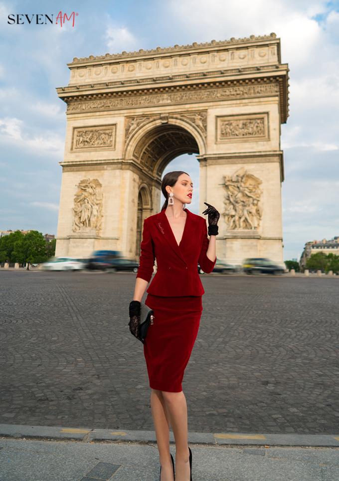 Tittle 1: ĐẮM SAY TRONG BỘ SƯU TẬP CỦA SEVEN.AM TẠI PARIS - xin edit