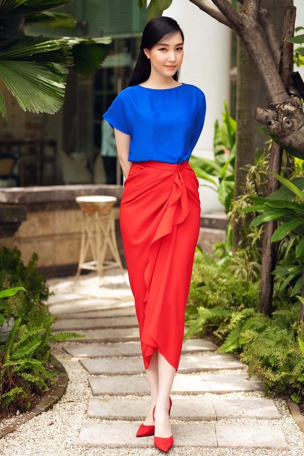 Hoa khôi Huế 2015 Ngọc Trân.