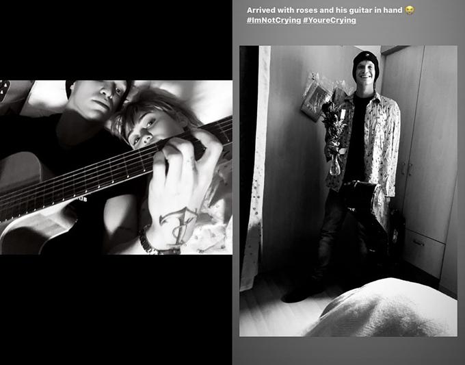 Cody đến viện thăm Miley lúc nửa đêm.
