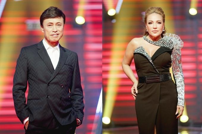 Tuấn Ngọc và Thanh Hà.