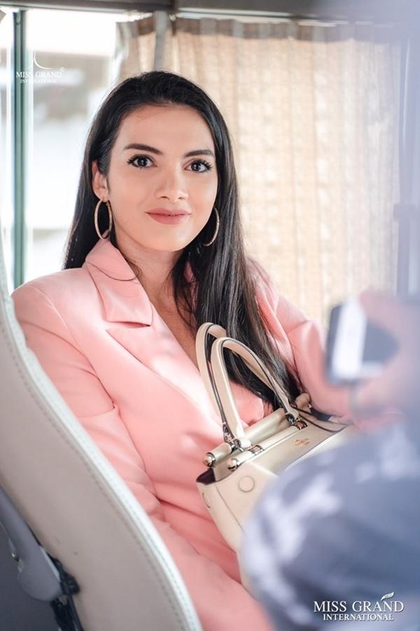 Đương kim Miss Grand International 2018 - María Clara Sosa sẵn sàng đồng hành cùng các thí sinh.