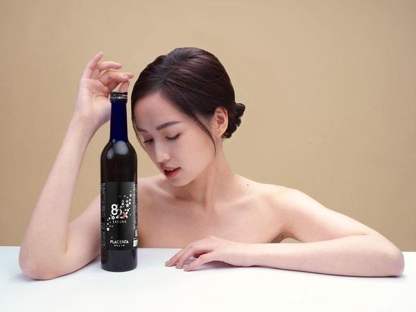 Tâm Tít yêu thích nước uống làm đẹp da 82X Sakura Placenta Nhật Bản.